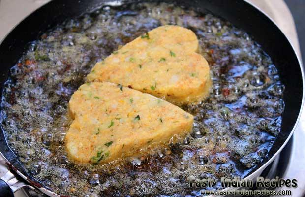 Aloo Tikki Chole Recipe Step4