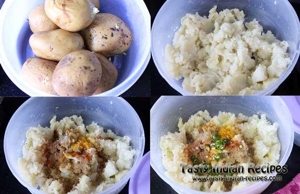 Aloo Tikki Chole Recipe Step1