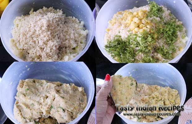 Aloo Tikki Chole Recipe Step2