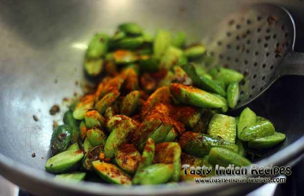 Tendli Masala Recipe step 5