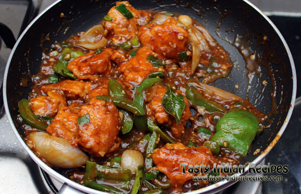 Chilli chicken recipe how to make chili chicken chilli chicken recipe step16 forumfinder