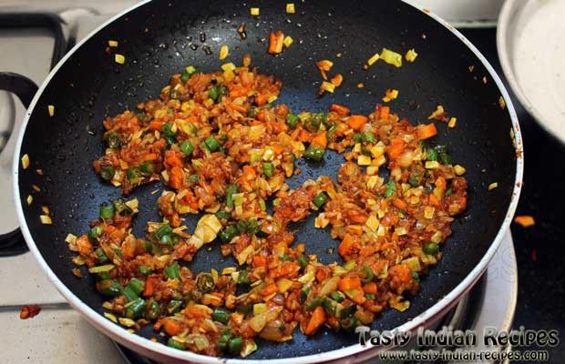 Veg Schezwan Fried Rice Recipe Step 9