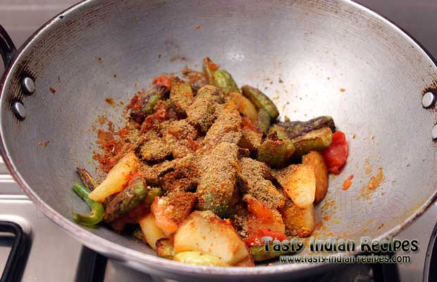 Aloo Tendli Recipe Step 7