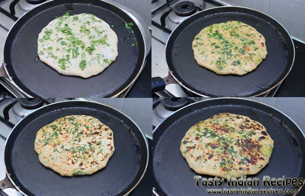 Punjabi Aloo Paratha Recipe Step 10