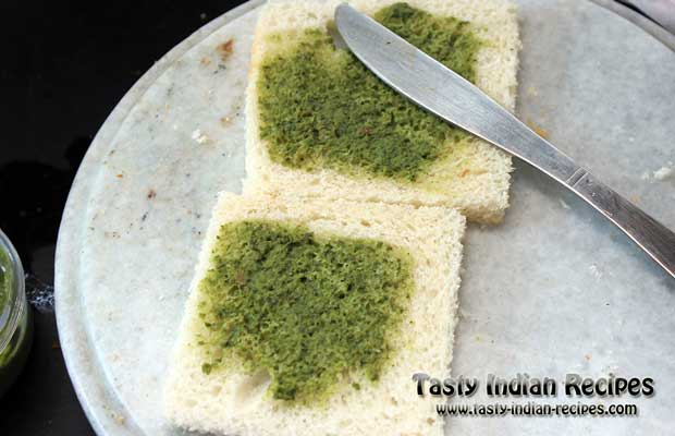 Green Chutney Pakora Recipe Step 3