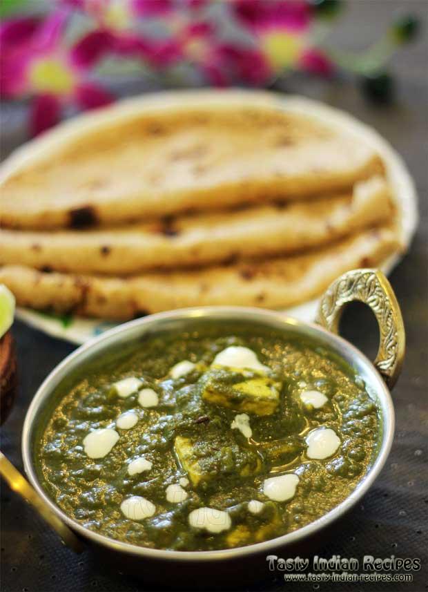 Punjabi Palak Paneer