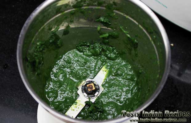 Punjabi Palak Paneer Recipe Step 5