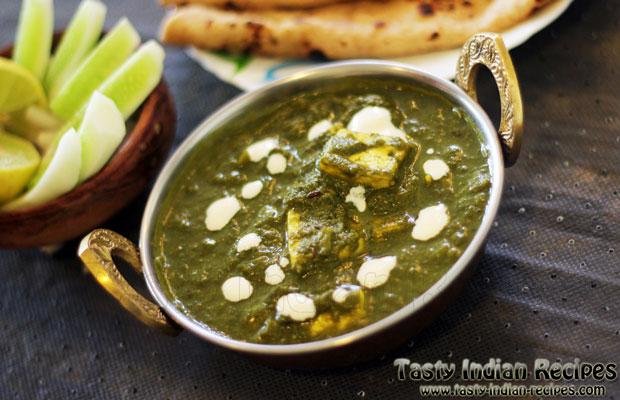Punjabi Palak Paneer Recipe