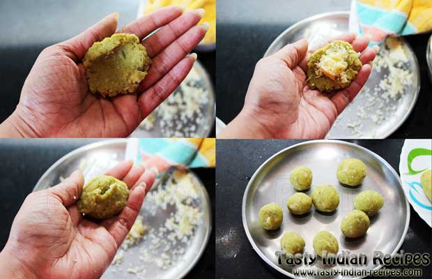 Spinach Cheese Balls Recipe Step 6