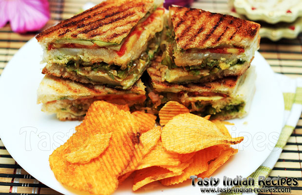 Vegetable Grill Sandwich